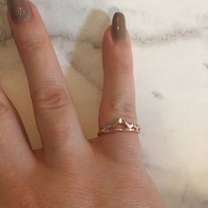 Jewelry - Charlie Rose Gold Mountain Midi Ring